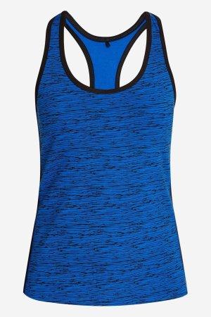 Linne sport/yoga blå abstrakt