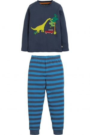 Pyjamas barn applikation dinosaurie, 4-10 år