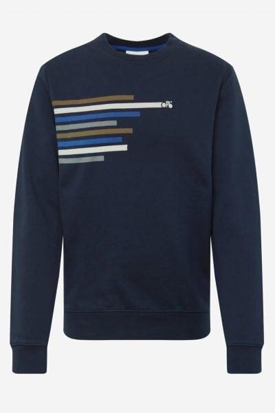 tröja sweatshirt yarrick marinblå