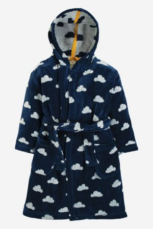 badrock barn blå/vit moln