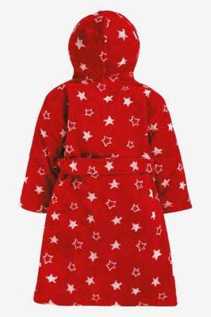 badrock barn röd/vit stjärnor baksida