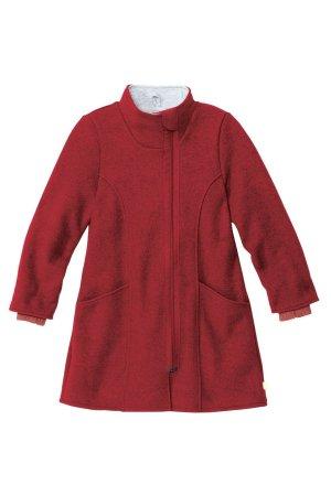 kappa filtad ull barn vinröd