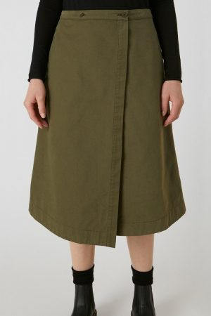 kjol omlott villaa kaki modell