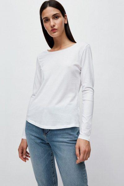 långarmad tröja rojaa vit modell