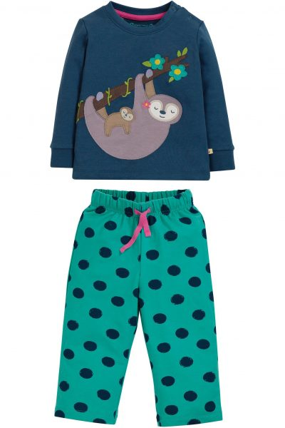 pyjamas barn applikation sengångare