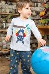 pyjamas barn fladdermus-applikation modell