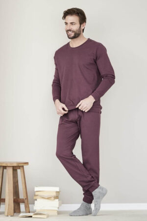 pyjamas herr vinröd modell