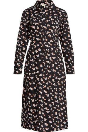 Skjortklänning fickor blomtryck Piper