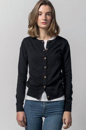 cardigan svart modell