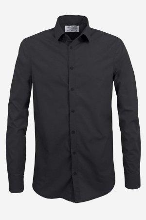skjorta slimfit svart