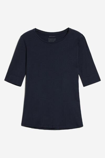 topp kortärmad jannaa marinblå