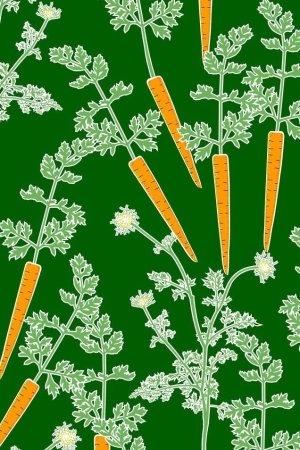 bäddset morötter
