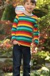 barntröja regnbåge modell