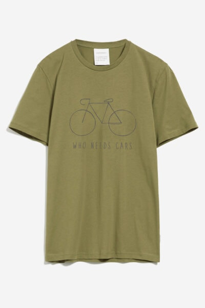 T-shirt big bike JAAMES grön