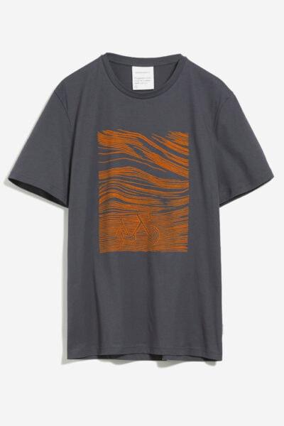 T-shirt cykel+landskap JAAMES - 2 färger
