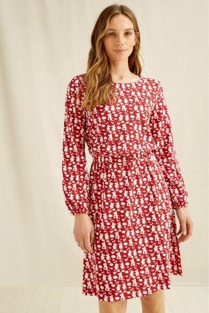klänning långärmad moomin family modell