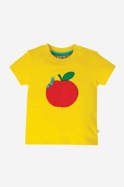 barntröja applikation äpple med överraskning