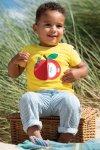 barntröja applikation äpple med överraskning modell