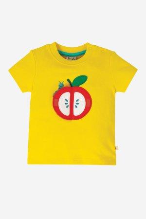 barntröja applikation äpple med överraskning öppet äpple