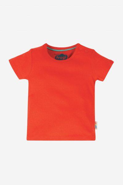 barntröja kortärm röd
