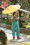 Sparkdräkt parasoller, 0-4 år