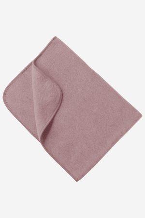 babyfilt ullfleece rosa