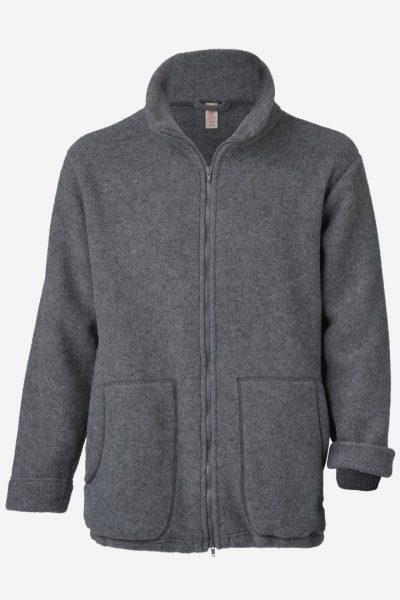 ulljacka unisex grå