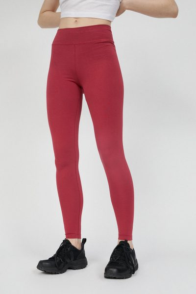 leggings faribaa rosenröd modell