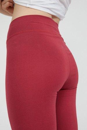 leggings faribaa rosenröd modell närbild