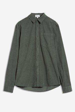 skjorta manchester flaan mörkgrön