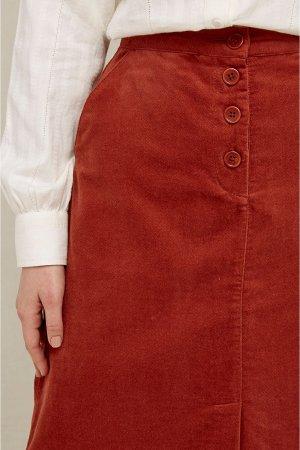 kjol sammet rachel kanel modell detalj