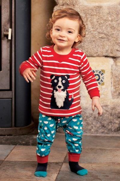 byxor baby/barn mjukis sheepdogs modell