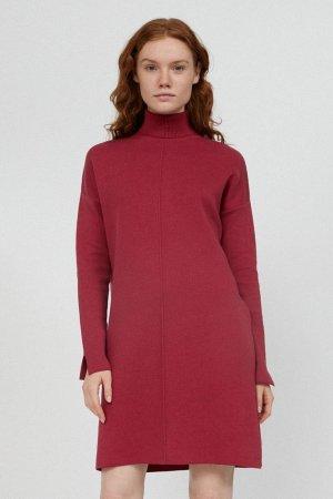 klänning stickad siennaa rosenträ modell