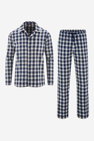 pyjamas herr flanell rutig
