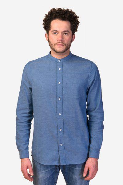 skjorta amit murarkrage blå modell