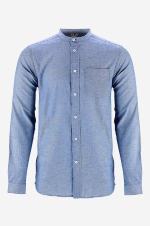skjorta amit murarkrage blåmelerad