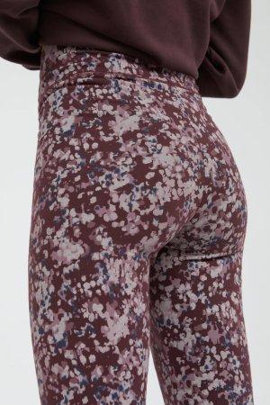 leggings faribaa early blossoms modell närbild