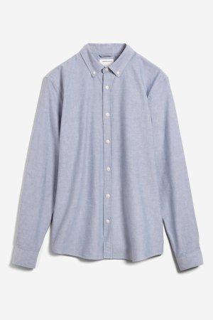 skjorta quaasi blåmelerad