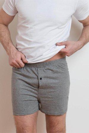 boxershorts ben randiga grå modell