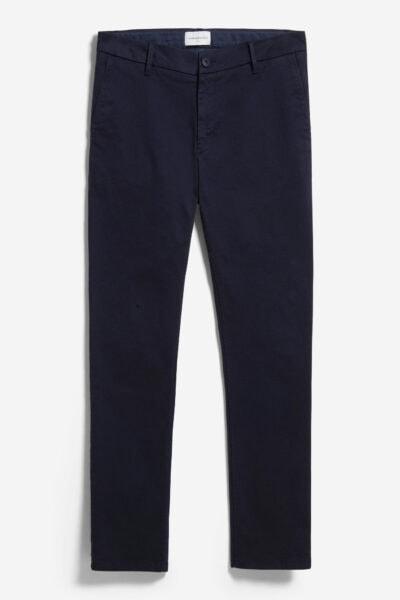 chinos herr aato slim två längder marinblå
