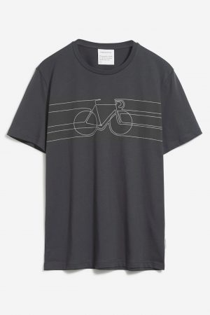 t-shirt smooth bike jaames mörkgrå