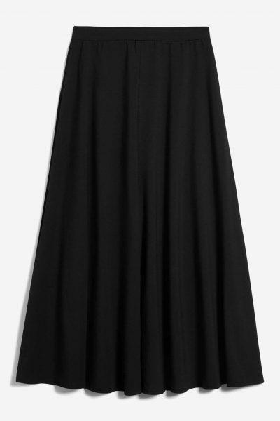 kjol klockad jolaa svart