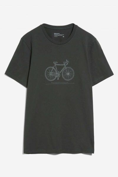 T-shirt tech bike JAAMES mörkgrön