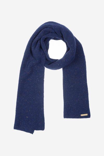 halsduk 100% jena mörkblå