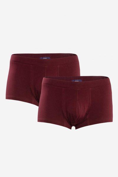 Kalsonger boxer vinröd 2-pack