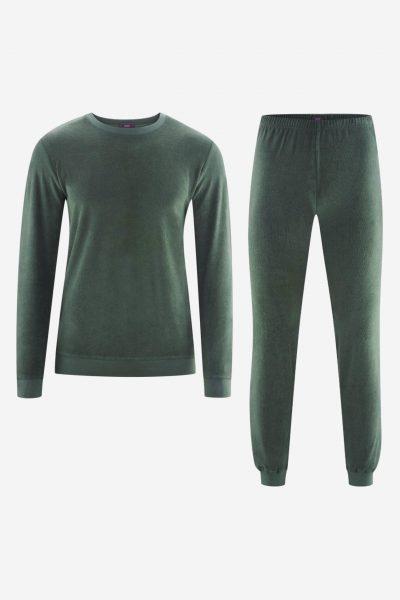 pyjamas herr björn frotté grön