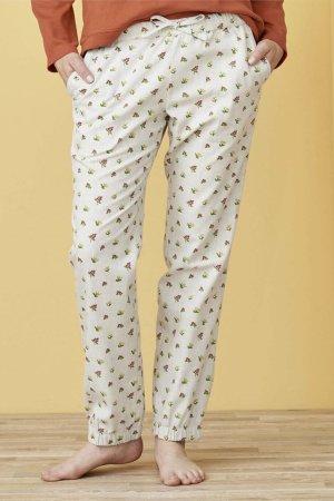 pyjamasbyxor larissa blommönster modell