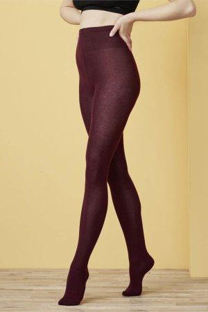 strumpbyxor bomull linda vinröd modell